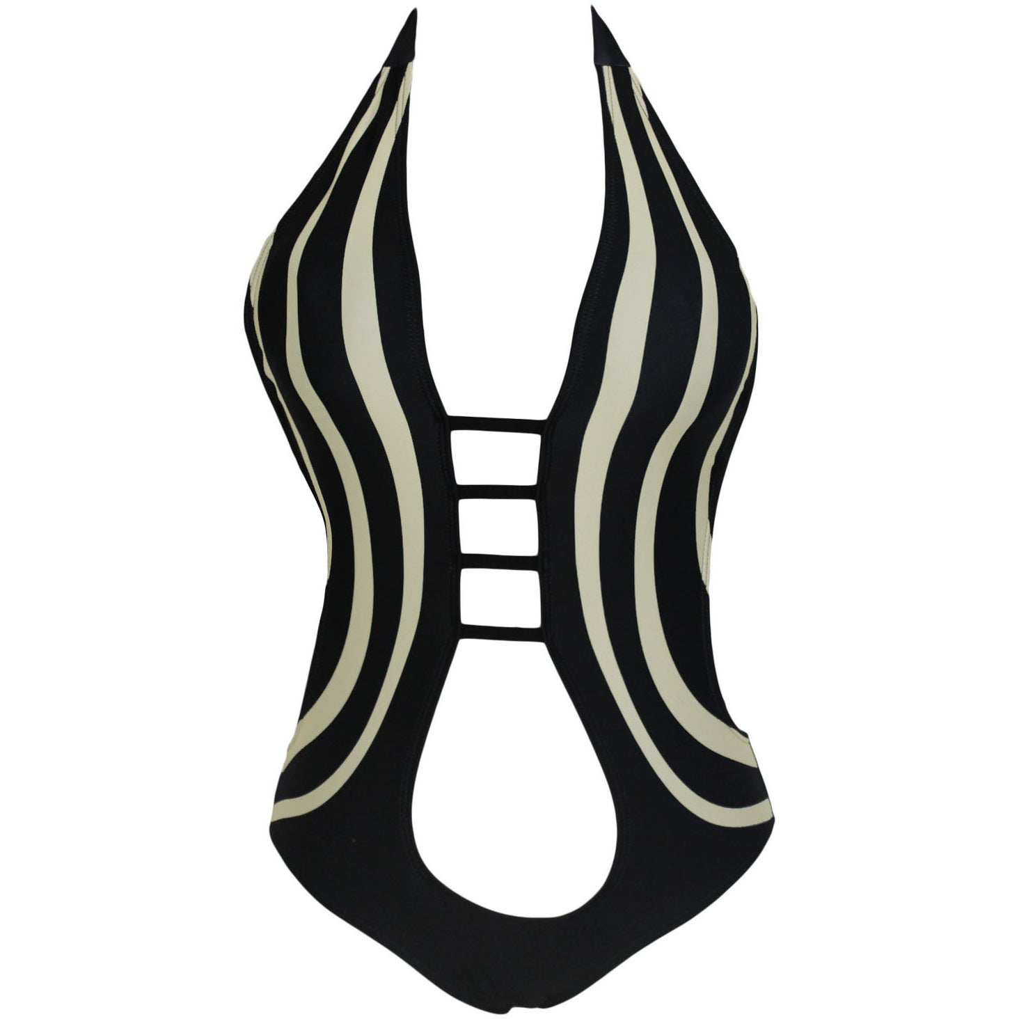One Piece Hollow Out Bathing Suit LAVELIQ - LAVELIQ - 3
