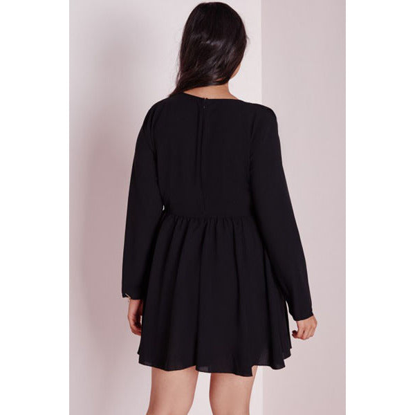 Plus Size Frill Dress Sale LAVELIQ - LAVELIQ - 2