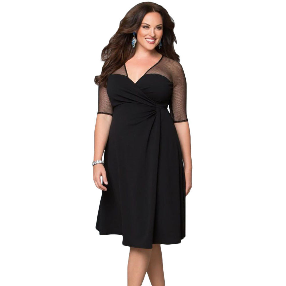 Plus Size Sleeveless Dress Sale LAVELIQ - LAVELIQ - 1