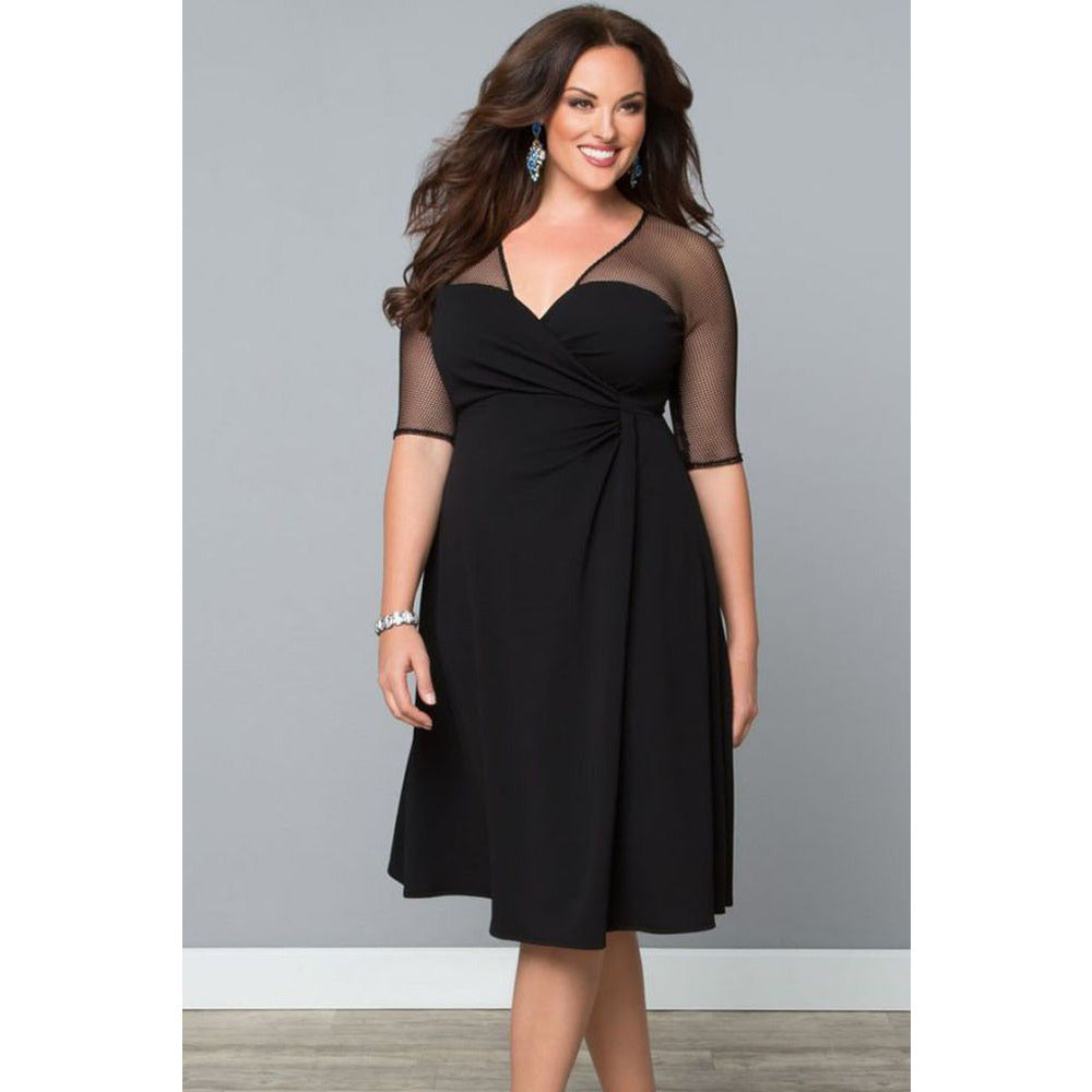 Plus Size Sleeveless Dress Sale LAVELIQ - LAVELIQ - 2