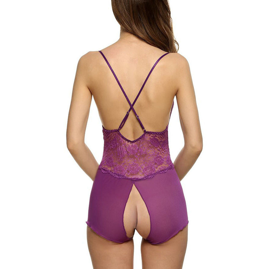 Purple Teddy Sleepwear LAVELIQ - LAVELIQ - 4