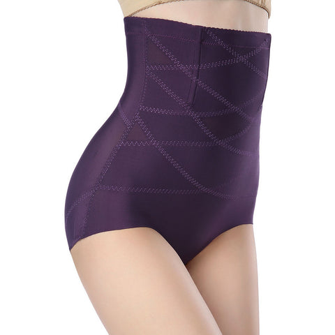 Purple High Waist Underwear LAVELIQ