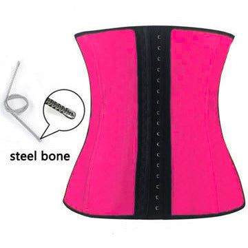 Rose Bones Latex Under Bust Corset LAVELIQ
