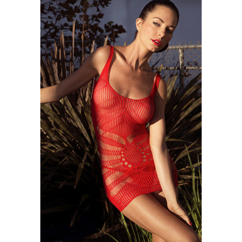 Open Red Lingerie LAVELIQ