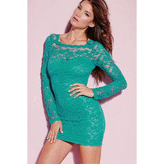 Sexy Lace V Back Mini Dress LAVELIQ - LAVELIQ - 1