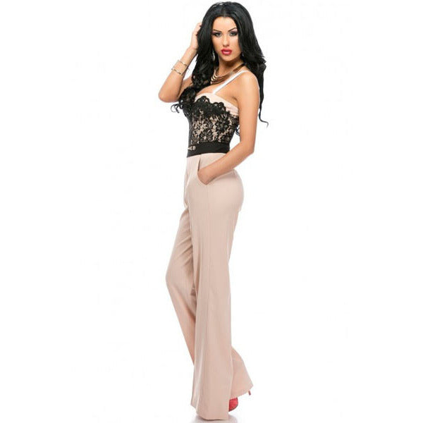 Sweetheart Lace Top Jumpsuit Sale LAVELIQ - LAVELIQ - 2