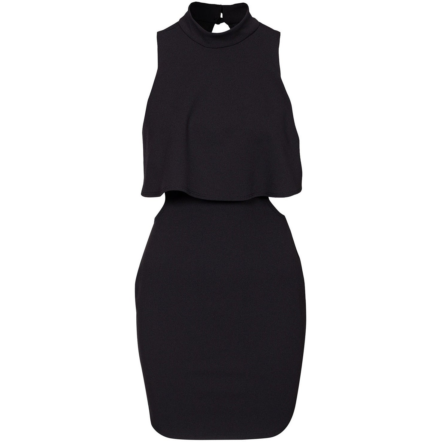 High Neck Little Black Dress Sale LAVELIQ - LAVELIQ - 3