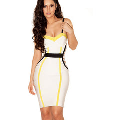 White Sleeveless Top Bandage Dress LAVELIQ SALE - LAVELIQ - 1