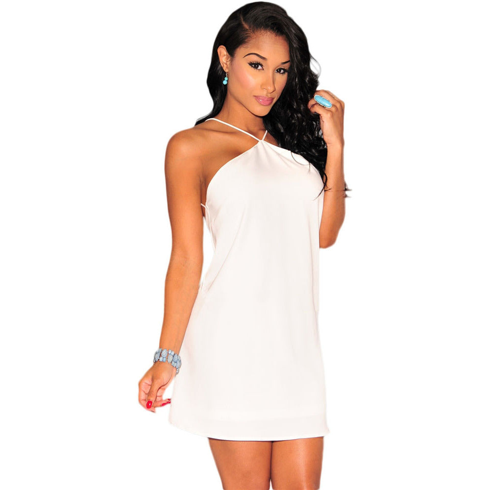White Strappy Dress Sale LAVELIQ - LAVELIQ - 1