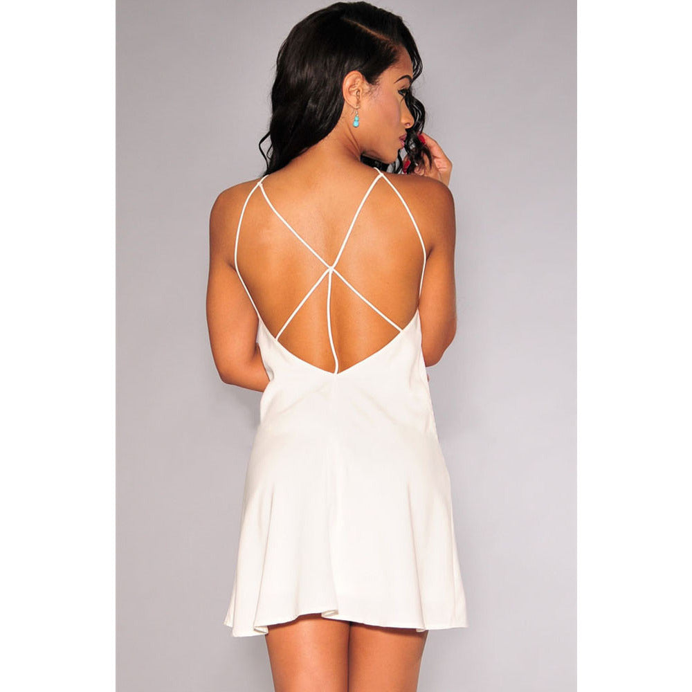 White Strappy Dress Sale LAVELIQ - LAVELIQ - 2