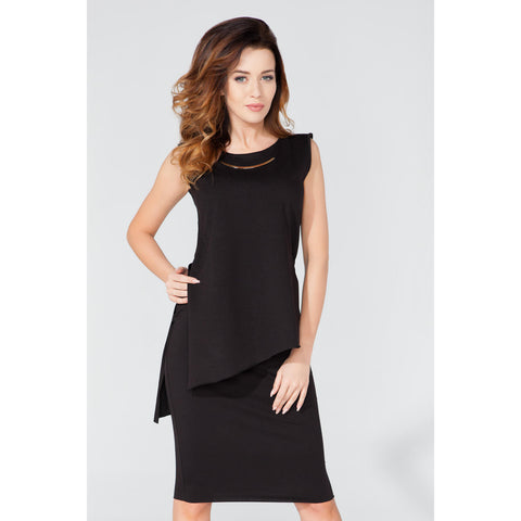 Black Sleeveless Top LAVELIQ