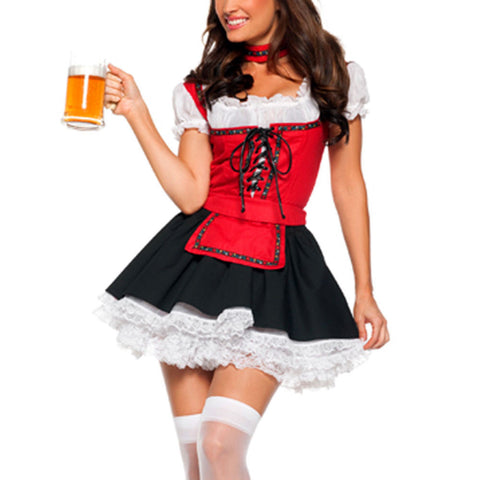 Fashion Womens Oktoberfest Plus Size Halloween Costume LAVELIQ