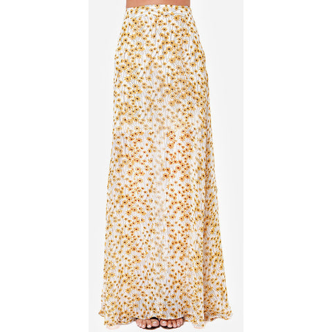 Fashion Floral Women Long Skirt LAVELIQ