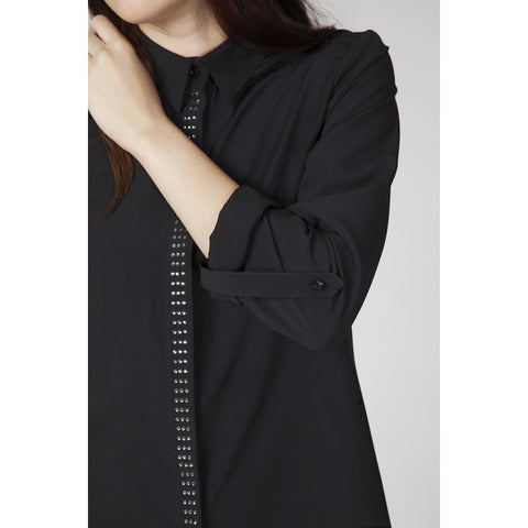 Classic Black Long Sleeves Shirt LAVELIQ