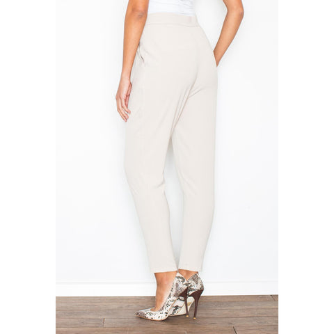 Casual Amber Pants With Unsymmetrical Closure LAVELIQ