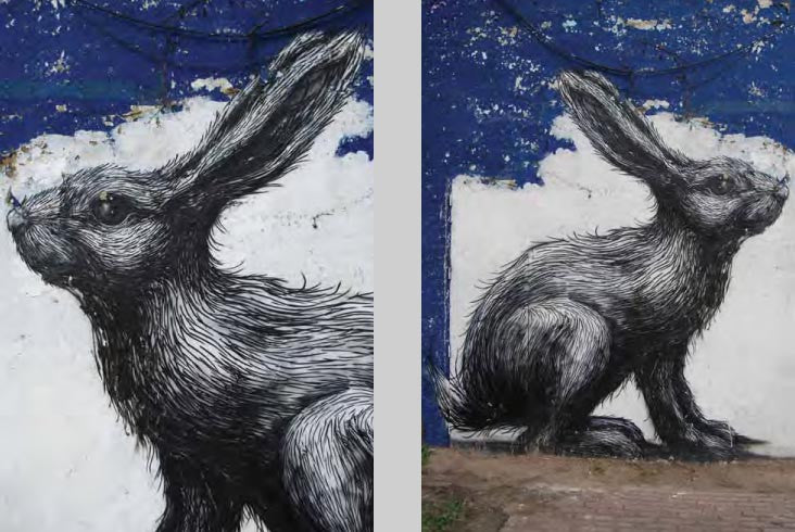 Street Art - The Hare