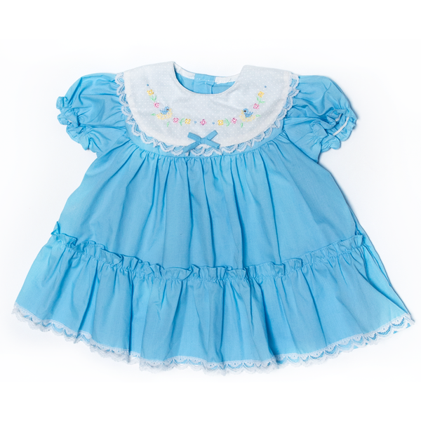 Baby Dress with Ducks, 6–9 Months