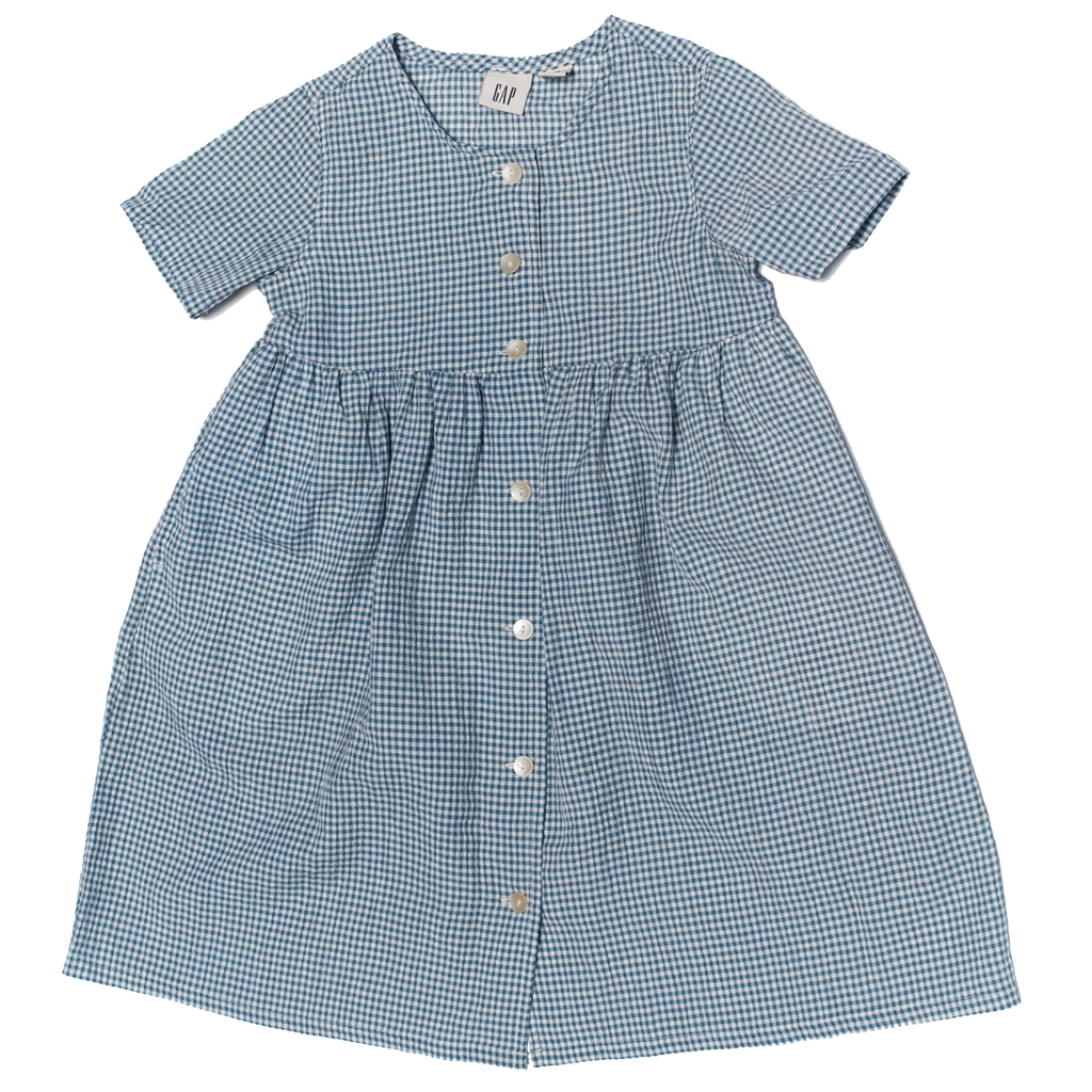 Vintage Gap Smock Dress, 8–10 Years