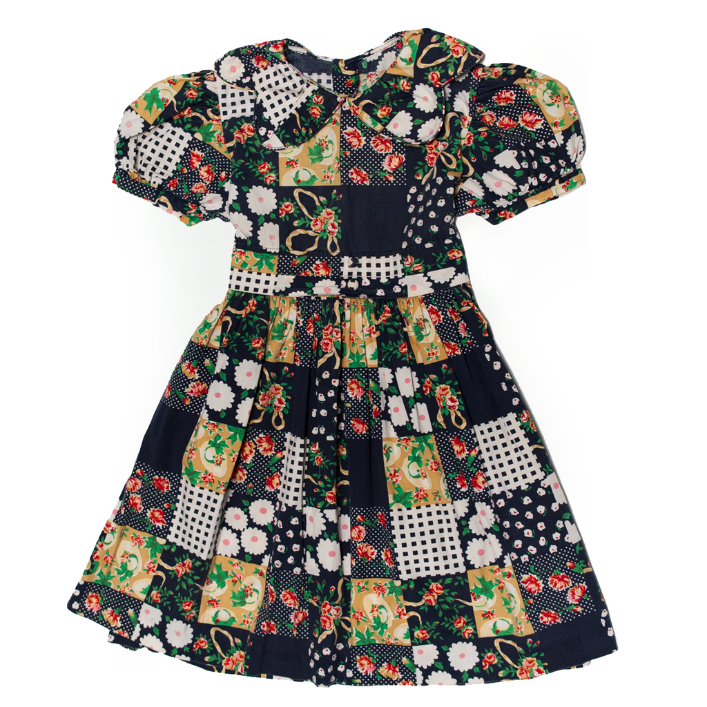 Patchwork Pattern Dress, 4–5 Years