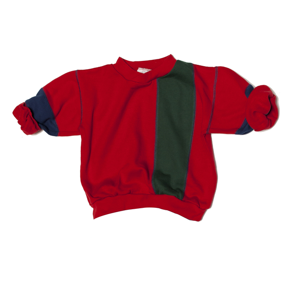 Colour Blocked Vintage Sweatshirt, 4 Years