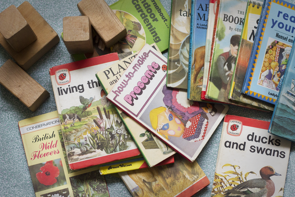 Vintage Ladybird Book, Plants & How They Grow