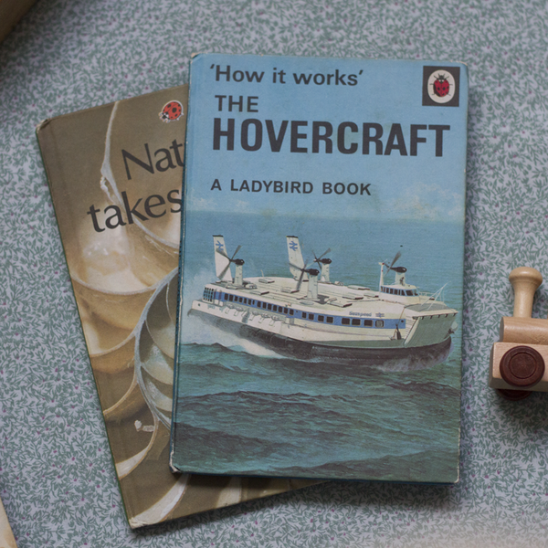 Vintage Ladybird Book, How it Works: The Hovercraft