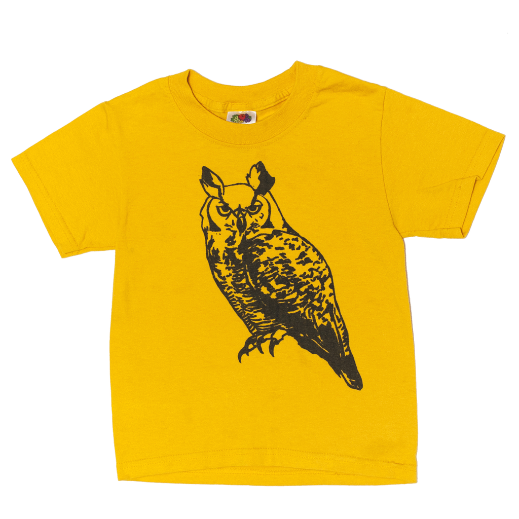 Illustrated Owl T-Shirt, 2–4 Years