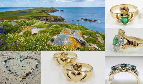 Gold Claddagh Rings Spring