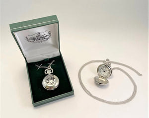 Mullingar Pewter Ladies Pendant Watch