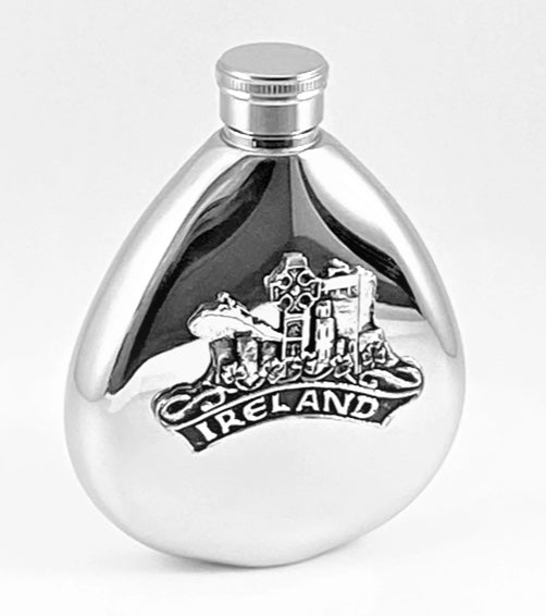 Ireland Whiskey Flask
