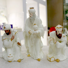Load image into Gallery viewer, Belleek Nativity Set Three Kings or Three Wise Men
