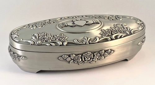Claddagh and Rose Jewellery Box