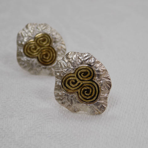 Sterling Silver Newgrange Earrings