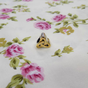 Gold-Plated Trinity Knot Charm
