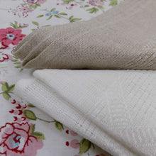 Load image into Gallery viewer, Etamine loose weave Irish linen napkins