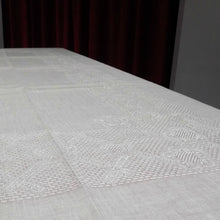 Load image into Gallery viewer, Large loose weave Irish linen tablecloth