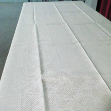Load image into Gallery viewer, Etamine Linen Tablecloth - Natural