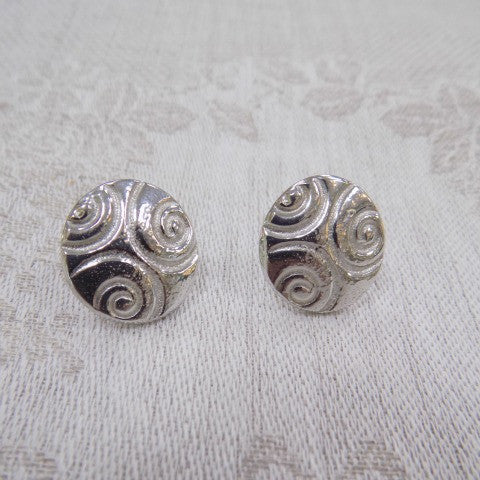 Reaction Celtic Pattern Earrings- Circle