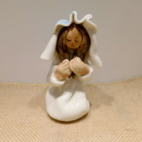 Ceramic figure of Holy Mary, Made in Ireland