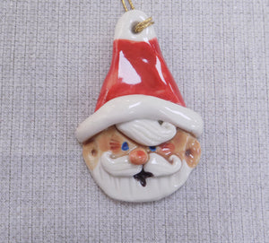 Santa Ceramic Christmas Decoration