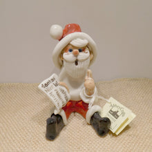 Load image into Gallery viewer, Ceramic Santa Figure