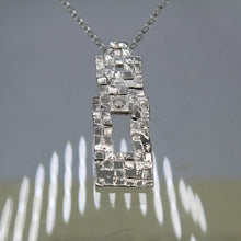 Load image into Gallery viewer, Stories in Stone- Abbey Wall Necklace
