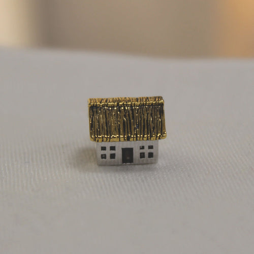 Irish Thatched Cottage Bead Charm