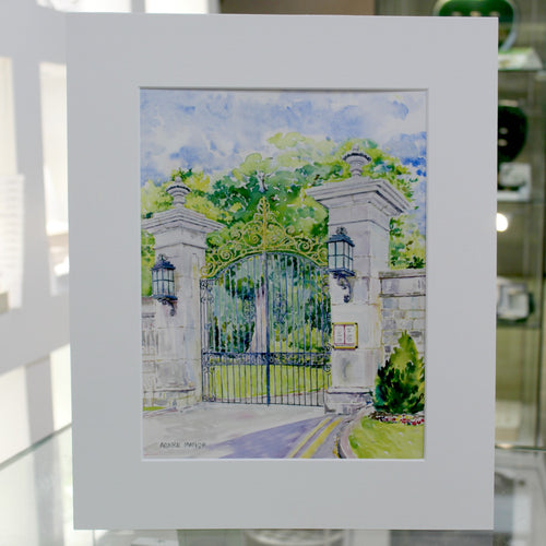 Adare Manor Gate Print