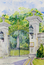 Load image into Gallery viewer, Adare Manor Gate Print