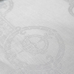 "Damask Irish Linen Napkin - ""Celtic"", Natural."