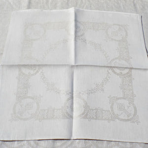 Celtic pattern natural Irish Linen napkin
