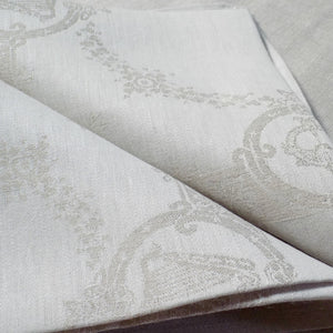 Celtic damask Irish linen napkins