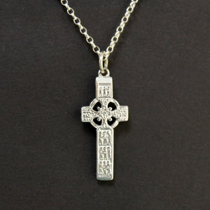 Sterling silver cross of Muirdeach necklace back