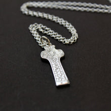 Load image into Gallery viewer, Sterling Silver Cross of St. Patrick/ Carndonagh